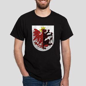 Kujawsko Pomorskie Apparel Dark T-Shirt