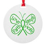 Kidney Disease Round Ornament