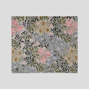 William Morris Bower Design Throw Blanket