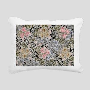 William Morris Bower Des Rectangular Canvas Pillow