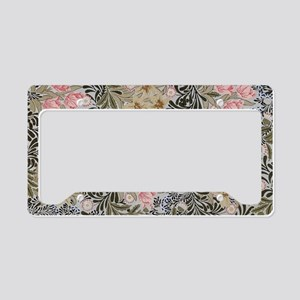 William Morris Bower Design License Plate Holder