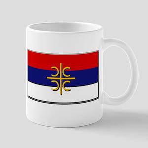 Flag of Serbian Cross Mug