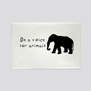 Be A Voice for Animals Magnets