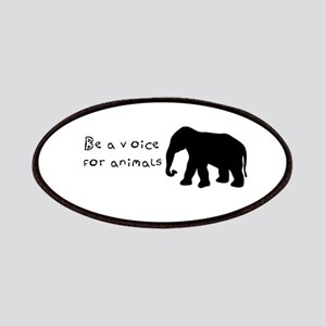 Be A Voice for Animals Patches