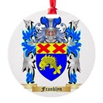 Franklyn Round Ornament