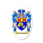 Franklyn Oval Car Magnet