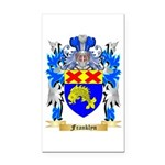 Franklyn Rectangle Car Magnet