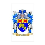 Franklyn Sticker (Rectangle 50 pk)