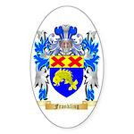 Frankling Sticker (Oval 50 pk)