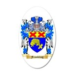 Frankling 35x21 Oval Wall Decal