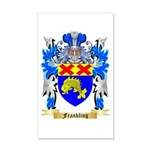 Frankling 20x12 Wall Decal