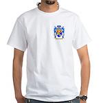 Franklin White T-Shirt