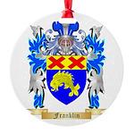 Franklin Round Ornament