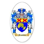 Franklin Sticker (Oval 10 pk)