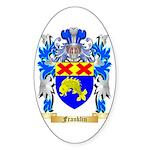 Franklin Sticker (Oval 50 pk)
