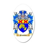 Franklin 20x12 Oval Wall Decal