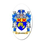 Franklin 35x21 Oval Wall Decal
