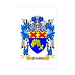 Franklen Sticker (Rectangle 50 pk)