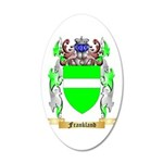 Frankland 20x12 Oval Wall Decal