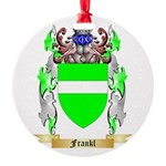 Frankl Round Ornament