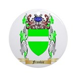 Frankie Ornament (Round)