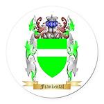 Frankental Round Car Magnet