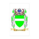 Frankental Sticker (Rectangle 10 pk)