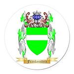 Frankenstein Round Car Magnet