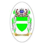 Frankenschein Sticker (Oval 50 pk)