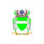 Franke Sticker (Rectangle 50 pk)