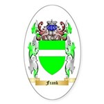 Frank Sticker (Oval 10 pk)