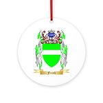 Frank Ornament (Round)
