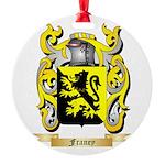 Franey Round Ornament