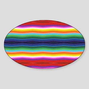 Colorful Baja Pattern Sticker