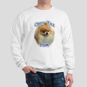 Pomeranian Obey Sweatshirt