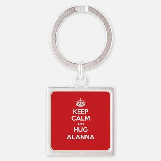 Hug Alanna Keychains