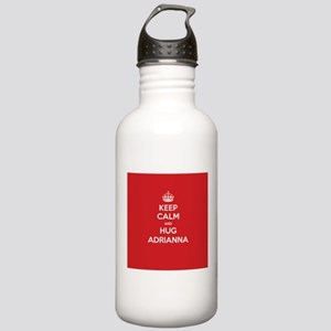 Hug Adrianna Water Bottle