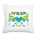 LEAVES Square Canvas Pillow