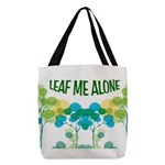 LEAVES Polyester Tote Bag