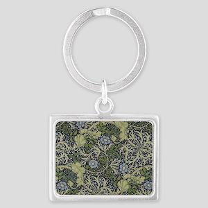 William Morris Seaweed Landscape Keychain