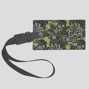William Morris Seaweed Large Luggage Tag