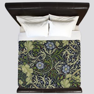 William Morris Seaweed King Duvet