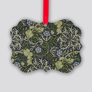 William Morris Seaweed Picture Ornament