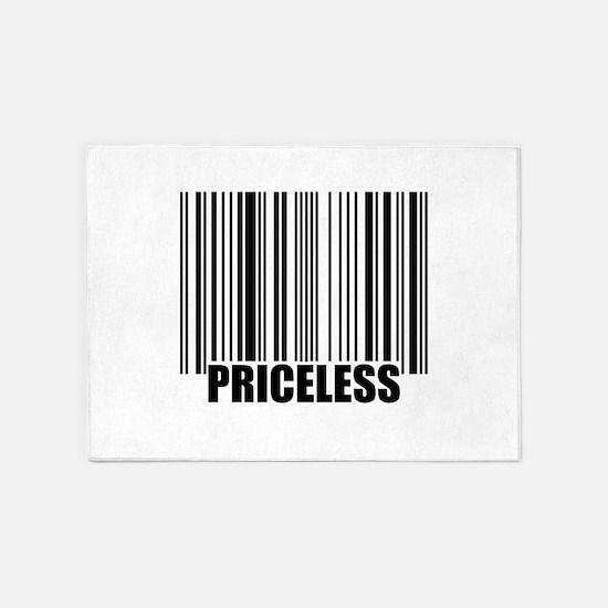Priceless UPC 5'x7'Area Rug