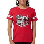 Vancouver Canada Souvenir Womens Football Shirt