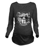 Vancouver Canada Sou Long Sleeve Maternity T-Shirt