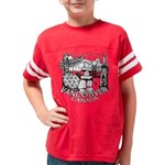 Vancouver Canada Souvenir Youth Football Shirt