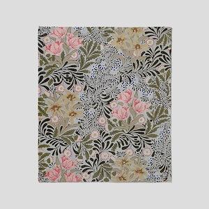 William Morris Bower Throw Blanket