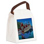 Vancouver Canada Souvenir Canvas Lunch Bag