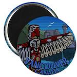 """Vancouver Canada Souvenir 2.25"""" Magnet (10 pack)"""